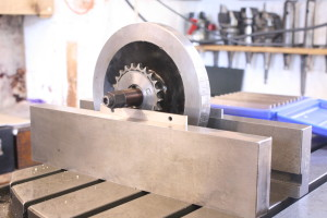 Static flywheel balance